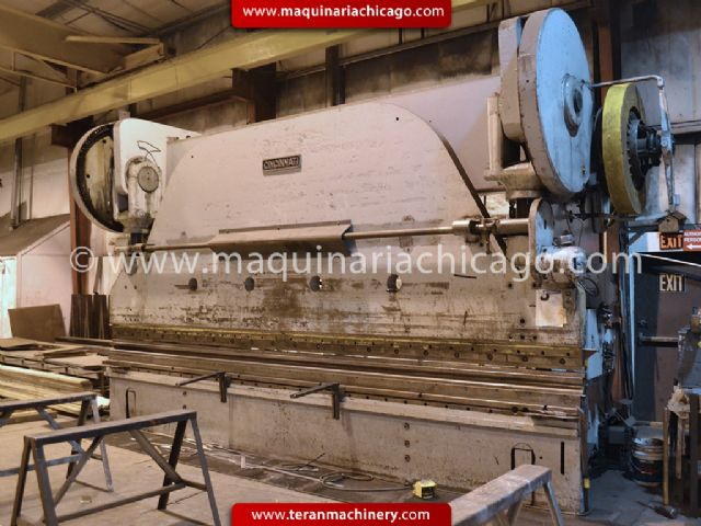 19' x 400 ton CINCINNATI Press Brake (owner/seller HOUSTON