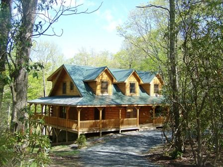 Log Cabin Vacation Rental Blowing Rock Amp Boone Nc Hickory