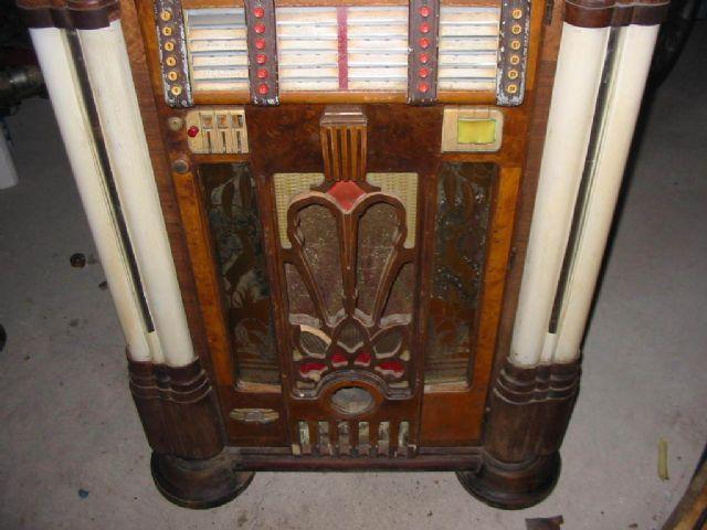 1942 Wurlitzer 950 jukebox unrestored original SAN FRANCISCO