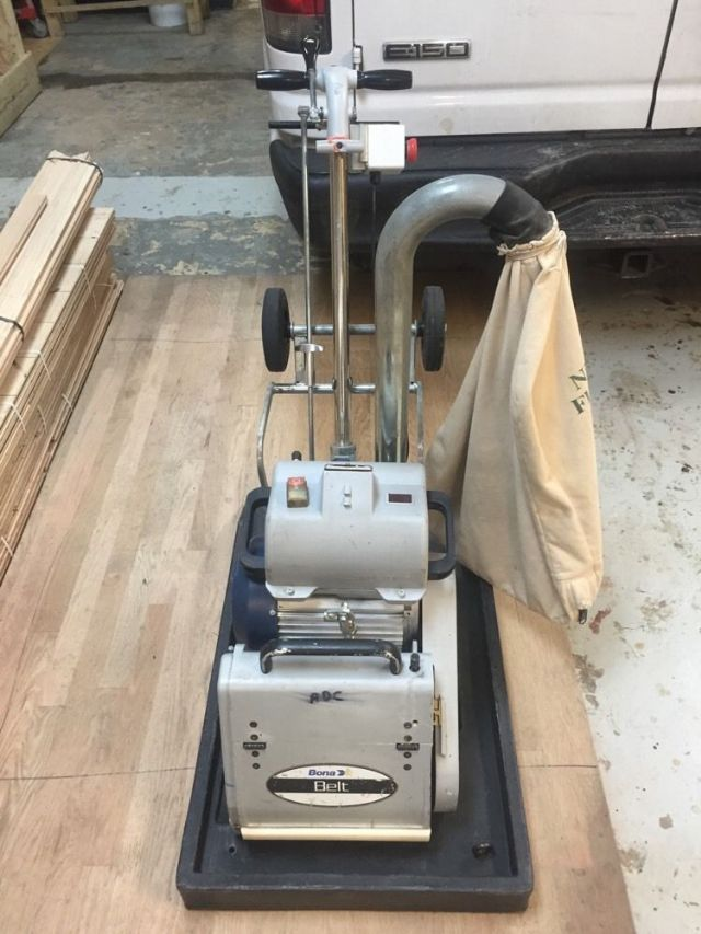 Lagler Hummel Commercial 8 Inch Belt Floor Sander Detroit