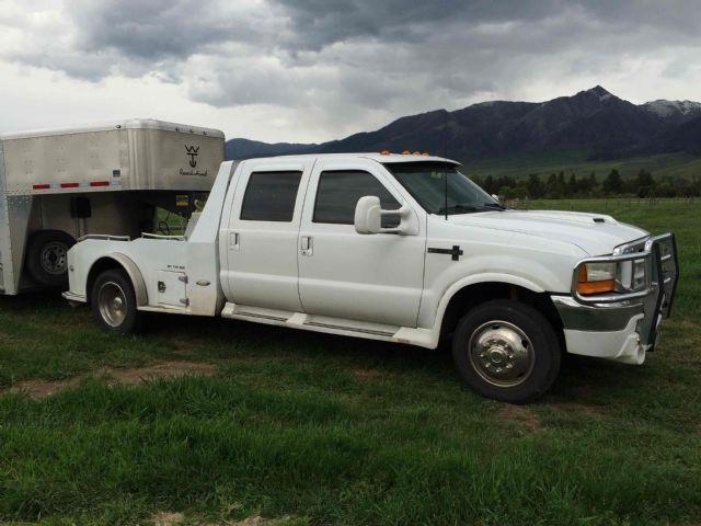 1999 f450 crewcab dually western hauler flatbed billings montana pickup trucks vehicles for. Black Bedroom Furniture Sets. Home Design Ideas