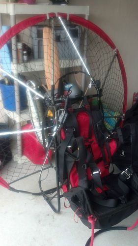 Blackhawk paramotor PPG with WING