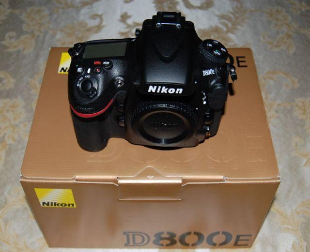 Nikon D800E Digital SLR Camera Body USA Model