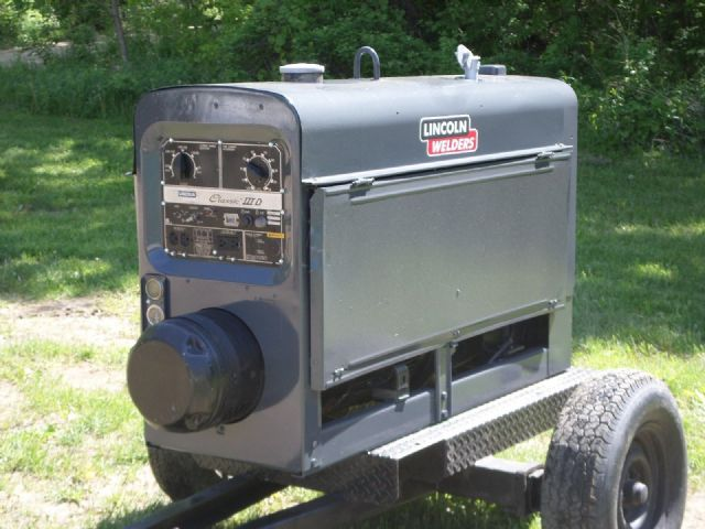 1996 Lincoln Classic3D Diesel Welder DALLAS TEXAS Tools For Sale