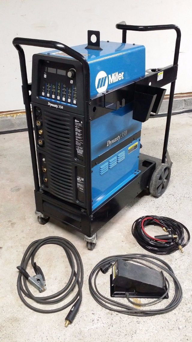 Miller Dynasty 350 ACDC TIG Welder Complete Kit DALLAS TEXAS Tools For Sale Classified Ads ...