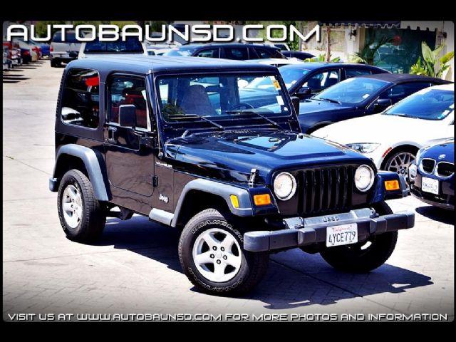2002 jeep wrangler se san diego california suvs vehicles for sale classified ads. Black Bedroom Furniture Sets. Home Design Ideas