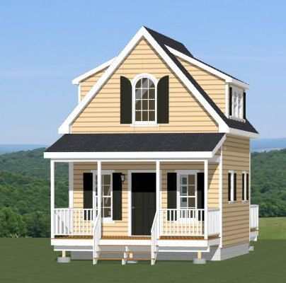 Astonishing 14X28 1 Bedroom Tiny House Pdf Floor Plan Atlanta Georgia Largest Home Design Picture Inspirations Pitcheantrous