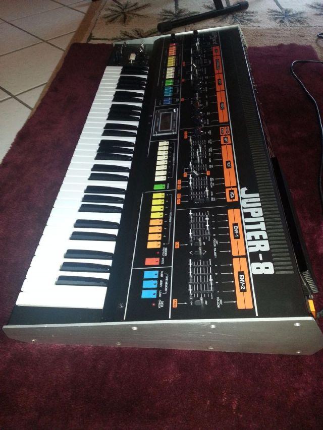 Roland Jupiter 8 Polyphonic Synthesizer CHICAGO ILLINOIS