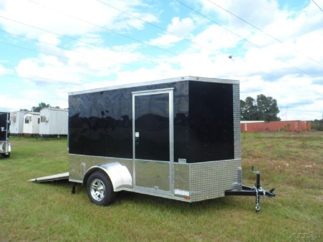 [Free Ship] 2016 Haul mark Trailer 6X10 Cargo sher