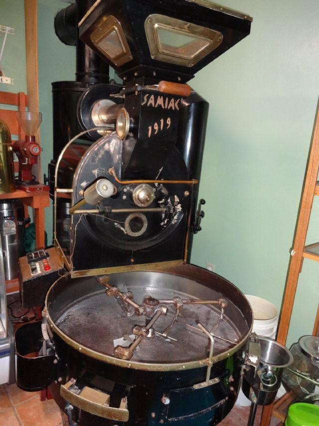 Samiac Commercial Coffee Roaster 15 kilo BROOKLYN NEW YORK