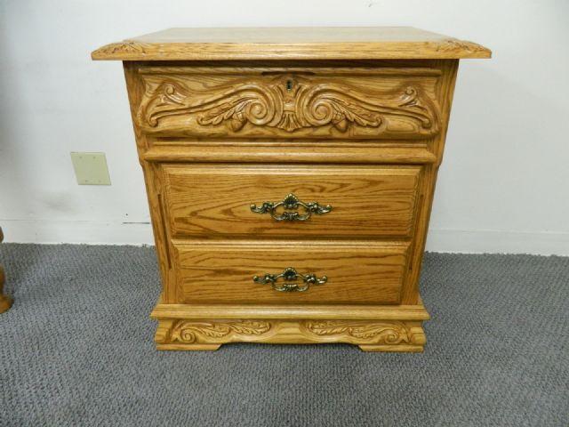 Oak Wood Interiors Bedroom Set (Solid Oak) HUNTSVILLE