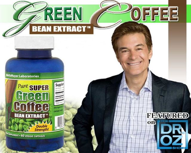 What green coffee bean extract does dr oz recommend