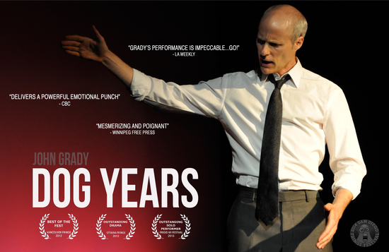 Hollywood Fringe - dog years (aka fear factor: canine edition)