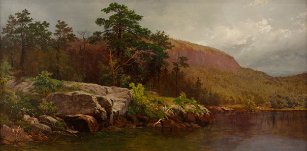 Andrew Fisher Bunner - Fourteen Mile Island, Lake George