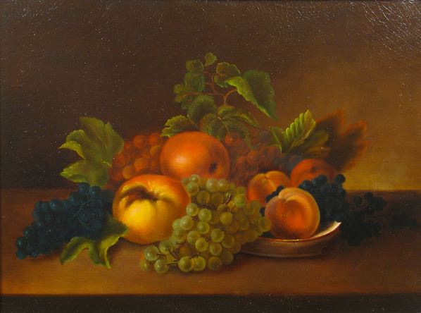 Rubens Peale (attributed to) - Fruit on a Tabletop