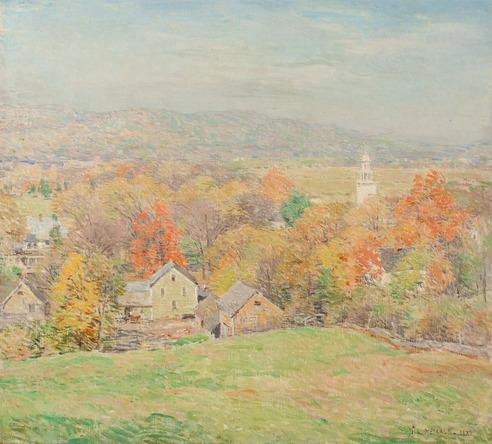Willard L. Metcalf - October Morning (No. 2)