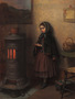 Eastman Johnson - Warming Her Hands