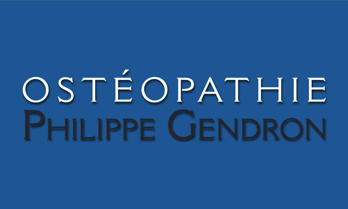 Ostéopathie Philippe Gendron