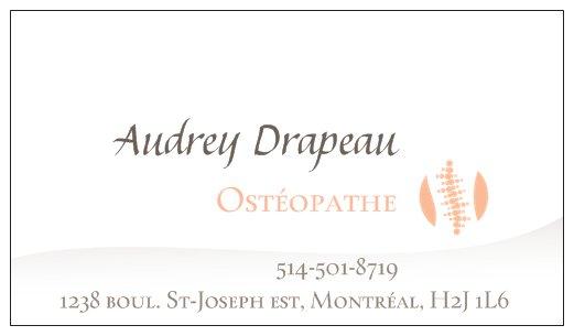 Clinique d'ostéopathie Audrey Drapeau