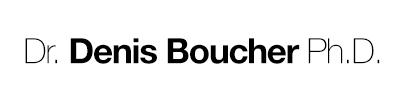 Dr Denis Boucher, Ph.D.