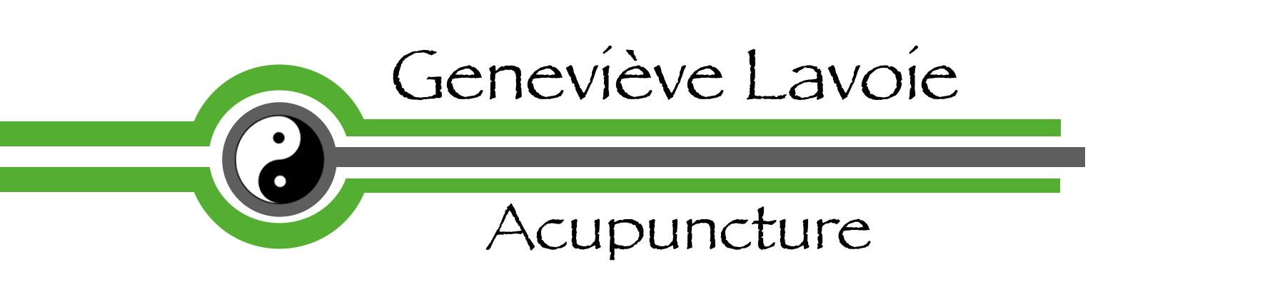 Acupuncture Geneviève Lavoie