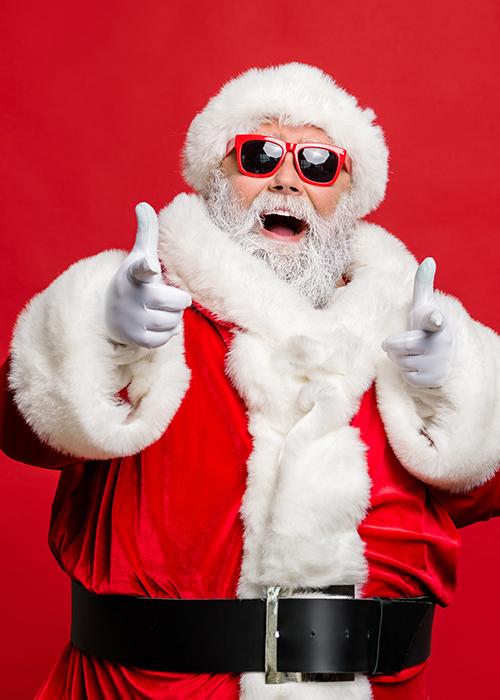 Le Père-Noël en ligne