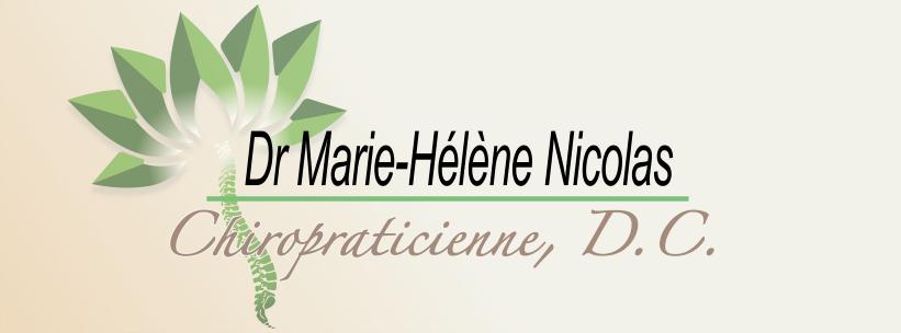Dr Marie-Helene Nicolas, Chiropraticienne, D.C.
