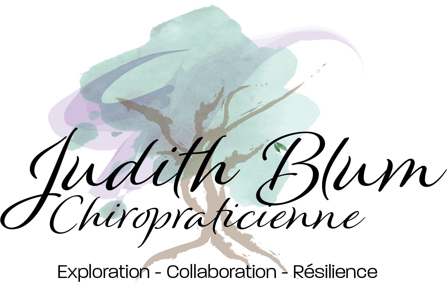 Judith Blum, Chiropraticienne