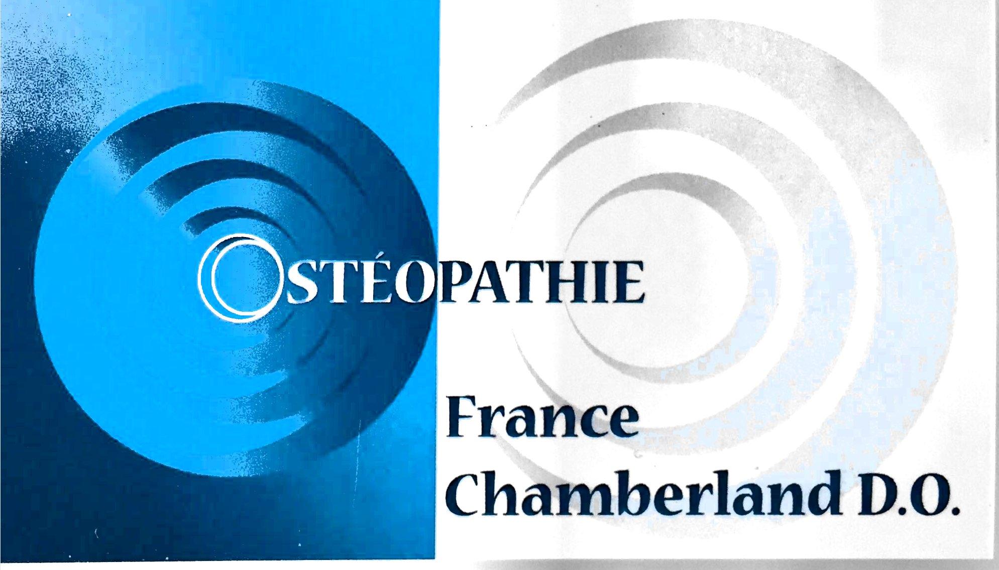 Ostéopathie France Chamberland D.O.