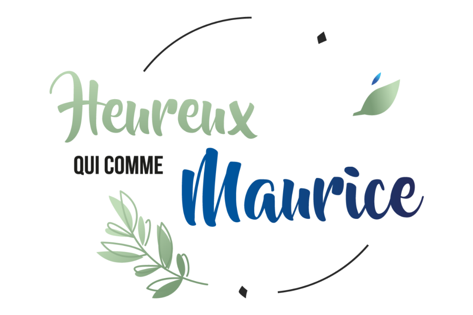 Heureux qui comme Maurice - Elodie Michel
