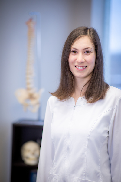 Alexandrine Brisson-Larouche, Ostéopathie