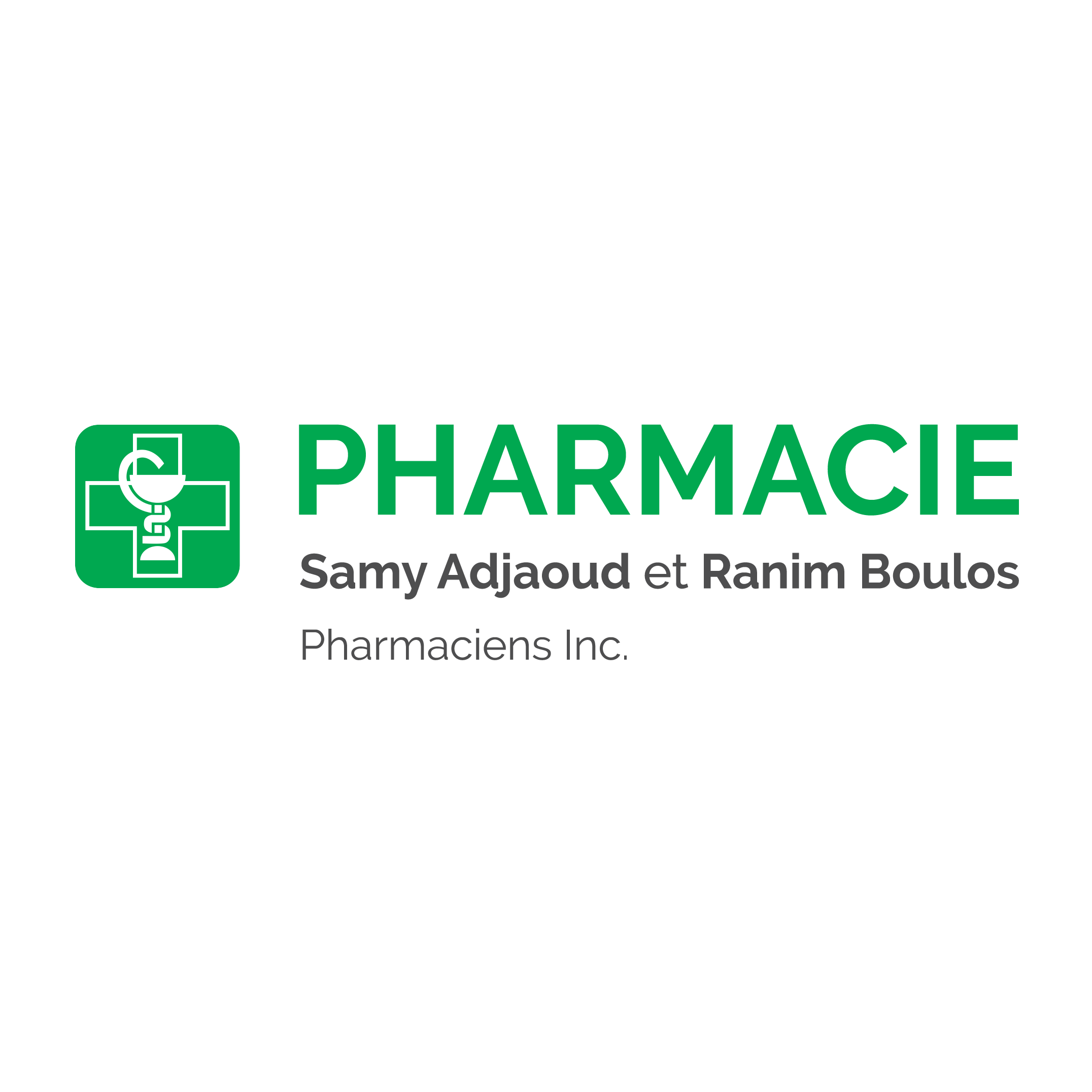 Samy Adjaoud et Ranim Boulos Pharmaciens Inc.