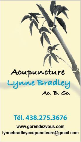 Lynne Bradley, Ac. B. Sc.
