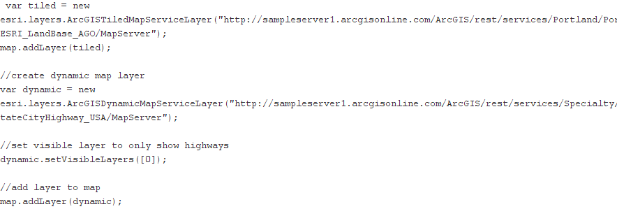 An Introduction to the ArcGIS Server JavaScript API