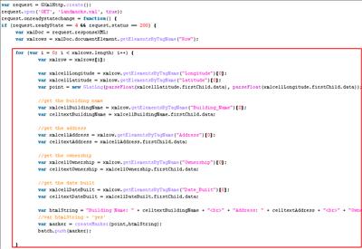 Reading XML Files with the Google Maps API |
