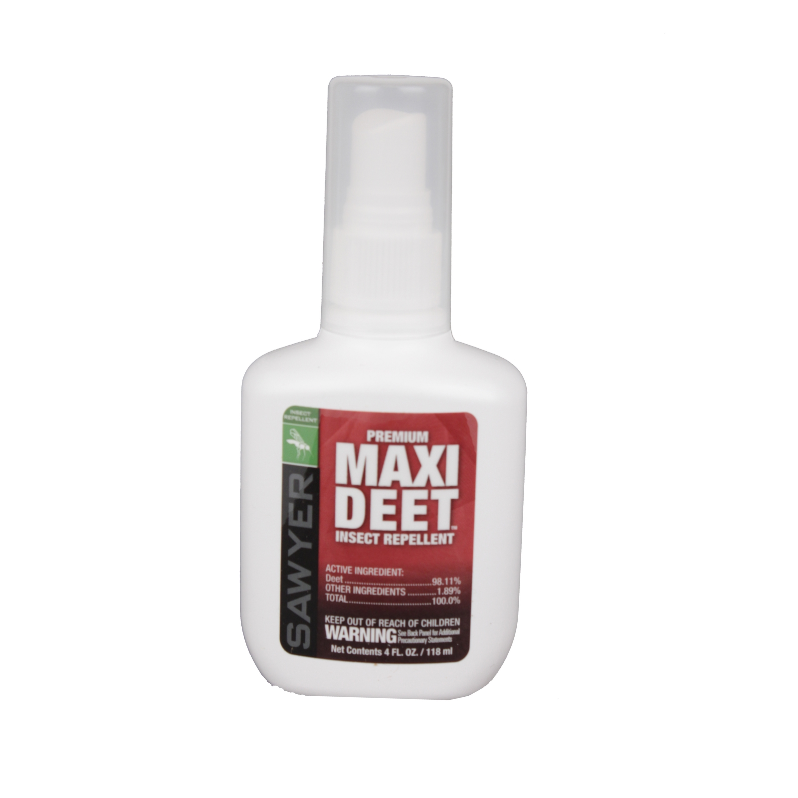 Maxi 100% DEET Pump 4 oz