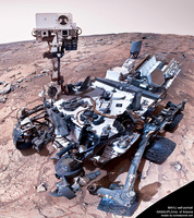 Curiosity rover self-portrait, sol 177