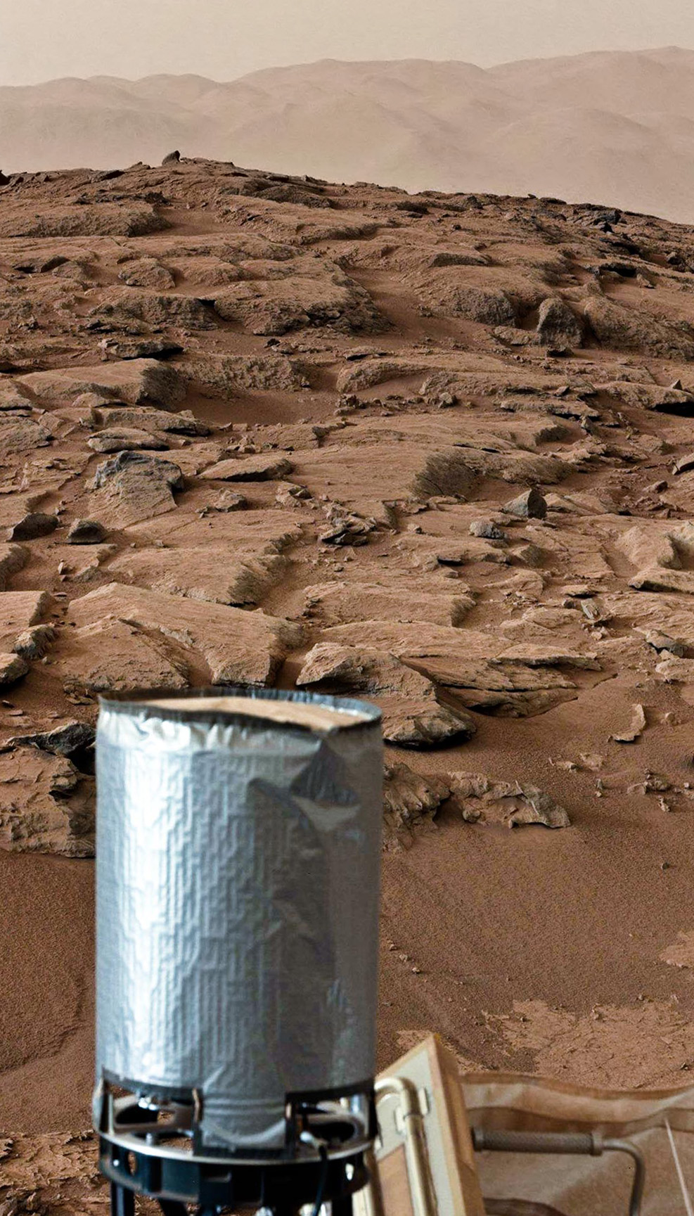 MASTCAM looking north, sol 170