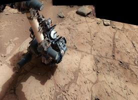 APXS measurement of potential drill site, sol 168