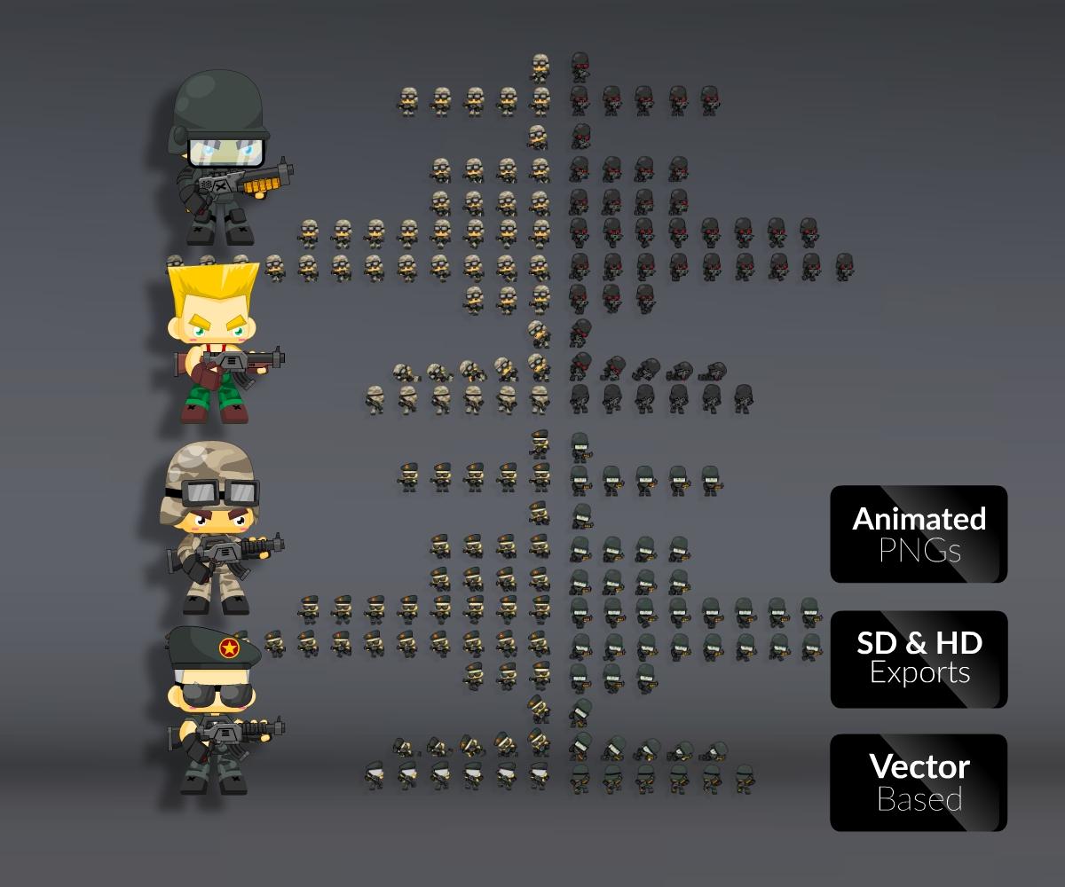 Super Sprite Bundle 1 - Game Art Partners
