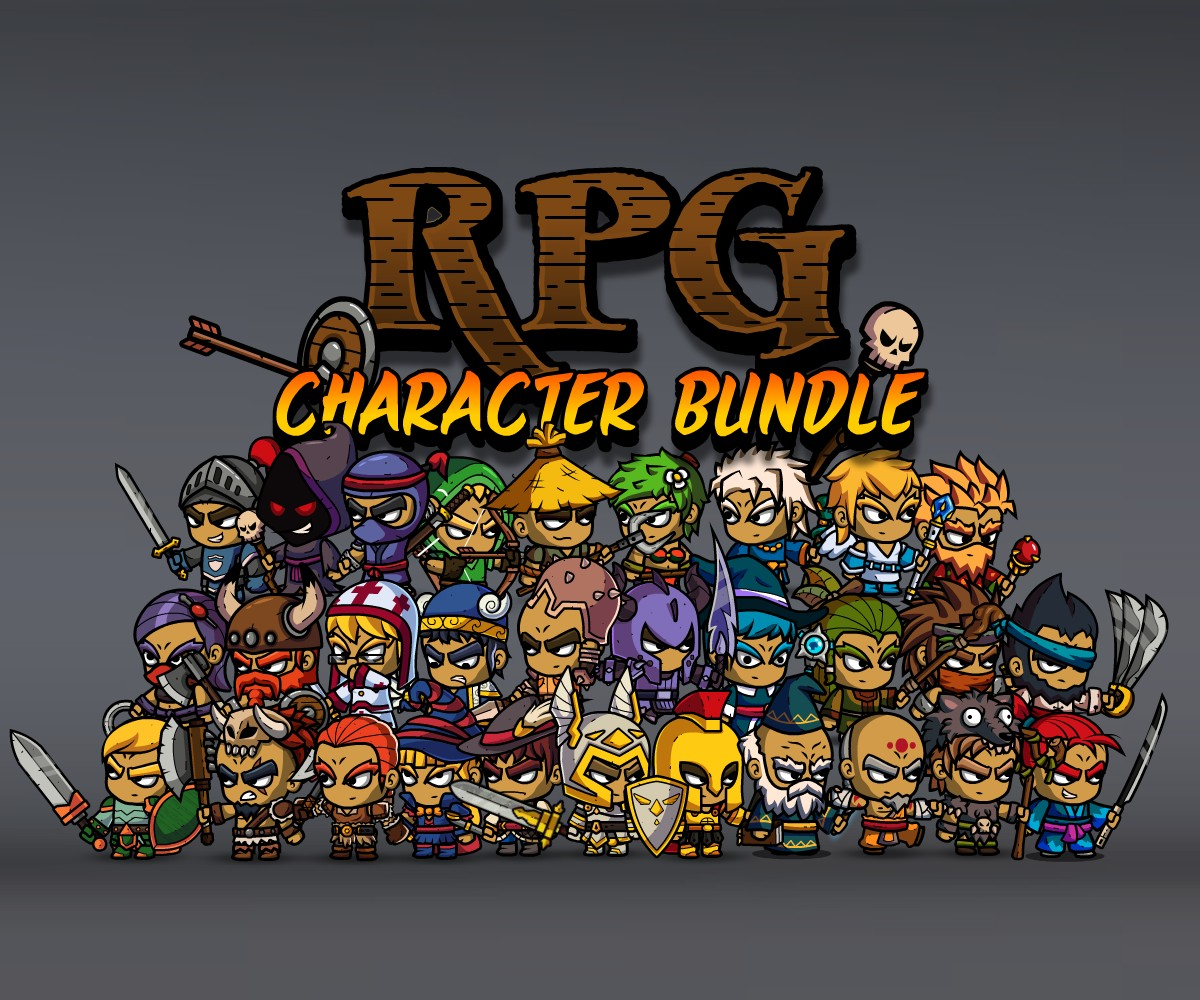Role Playing Games Character Bundle