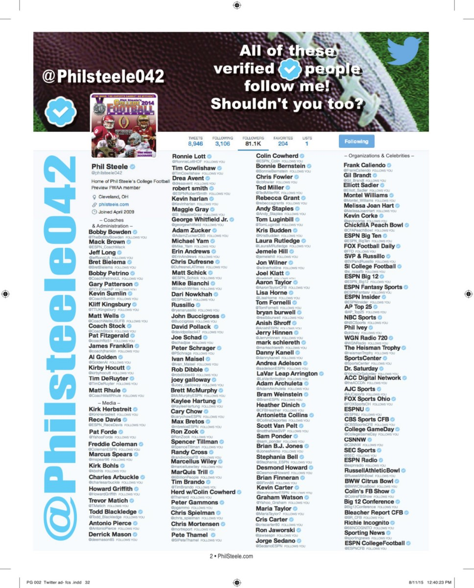 2015 phil steele 2015 fcs football preview play pause nvjuhfo Image collections