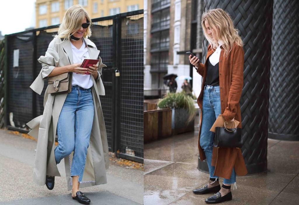 56c12c1b8d Os flat mules ficam ótimos com calças jeans de barra desfiada, com  pantacourts, calças cropped ou ainda com saias e shorts mais sofisticados -  não disse que ...