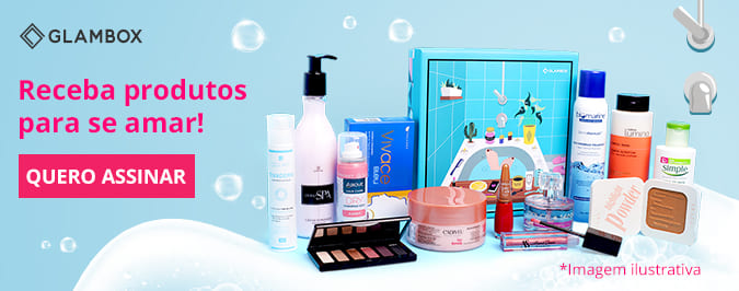 Assine já a Glambox Beauty Shower!