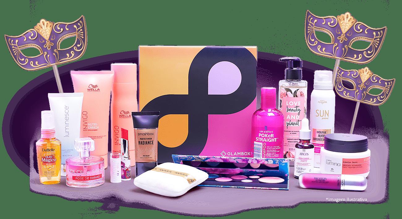 Edição Glambox Beauty Shower