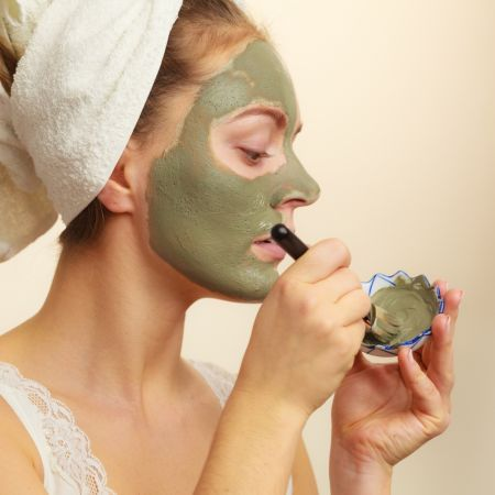 argila skin care