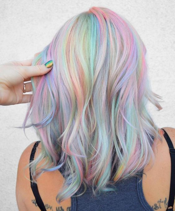 cabelo descolorido