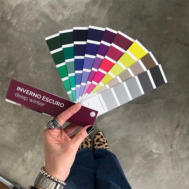 análise coloração