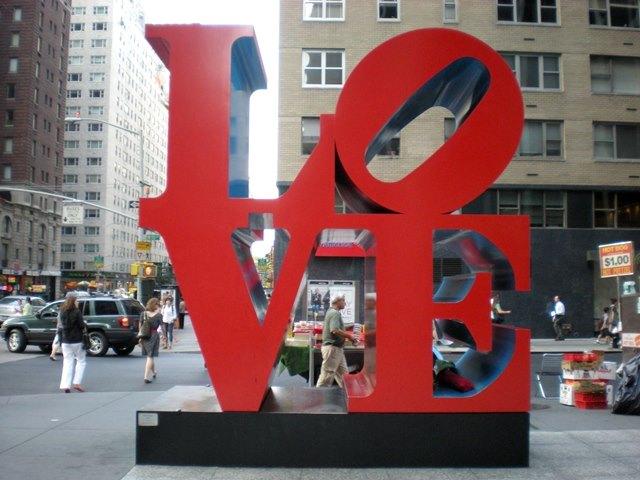 Love Statue Nova Iorque