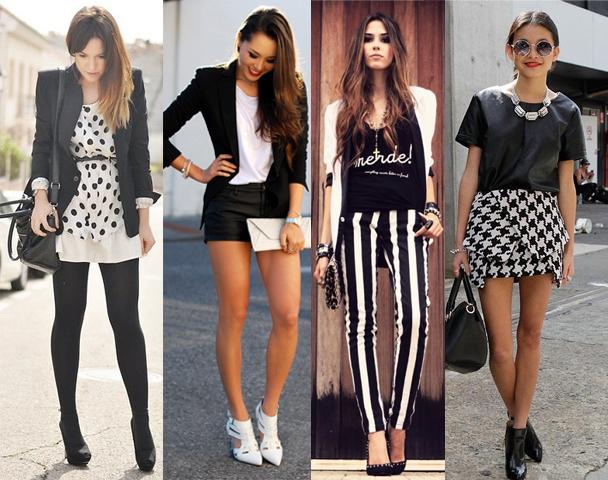 preto e branco - ruas